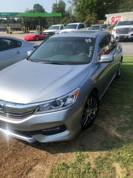 2017 Honda Accord for sale at BRYANT AUTO SALES in Bryant AR