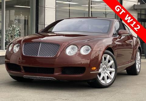 2005 Bentley Continental for sale at Carmel Motors in Indianapolis IN