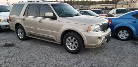 2004 Lincoln Navigator for sale at DREWS AUTO SALES INTERNATIONAL BROKERAGE in Atlanta GA
