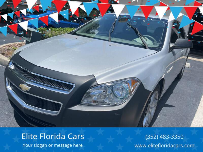 2012 Chevrolet Malibu for sale at Elite Florida Cars in Tavares FL