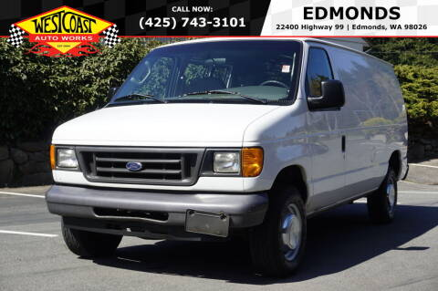 2006 Ford E-Series Cargo for sale at West Coast Auto Works in Edmonds WA