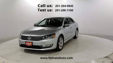 2015 Volkswagen Passat for sale at NJ State Auto Used Cars in Jersey City NJ