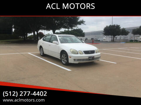 2003 Lexus GS 300 for sale at ACL MOTORS in Austin TX