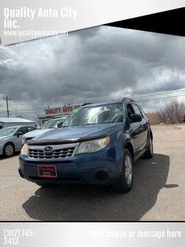 2011 Subaru Forester for sale at Quality Auto City Inc. in Laramie WY