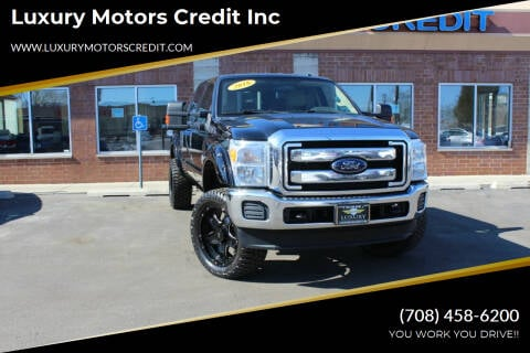 2016 Ford F-250 Super Duty for sale at Luxury Motors Credit Inc in Bridgeview IL