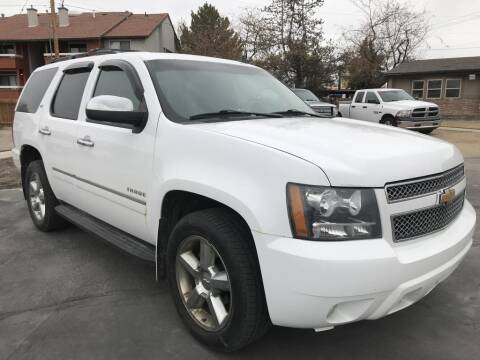 2011 Chevrolet Tahoe for sale at INVICTUS MOTOR COMPANY in West Valley City UT