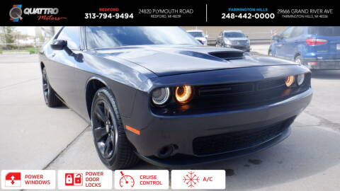 2017 Dodge Challenger for sale at Quattro Motors 2 - 1 in Redford MI