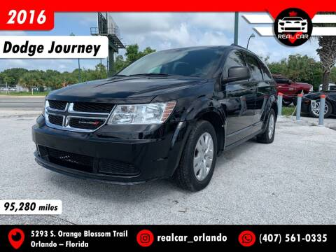 2016 Dodge Journey for sale at Real Car Sales in Orlando FL