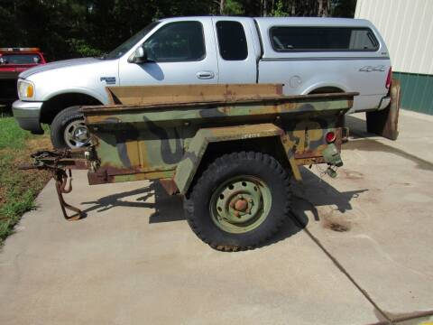 1966 Stevens Pair of M416 Jeep Trailers for sale at Southern Motor Company in Lancaster SC