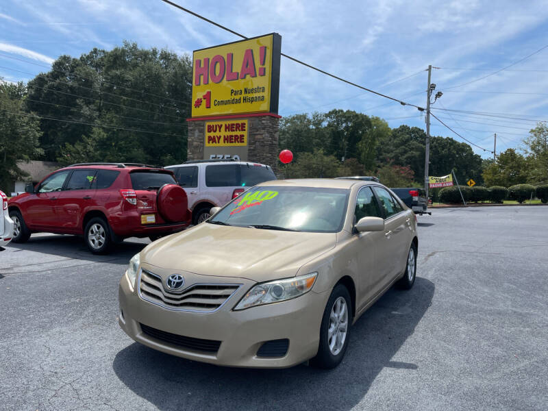 2011 Toyota Camry for sale at No Full Coverage Auto Sales in Austell GA