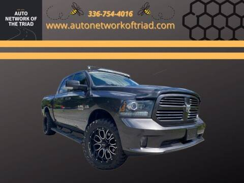 2016 RAM Ram Pickup 1500 for sale at Auto Network of the Triad in Walkertown NC