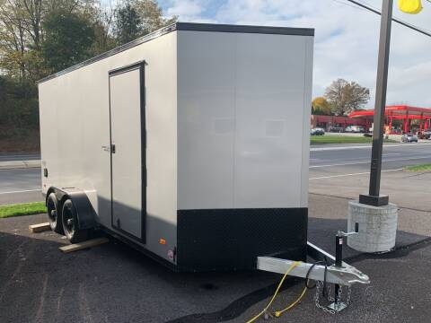 2021 Bravo Silverstar 7x16 Aluminum for sale at Smart Choice 61 Trailers in Shoemakersville PA