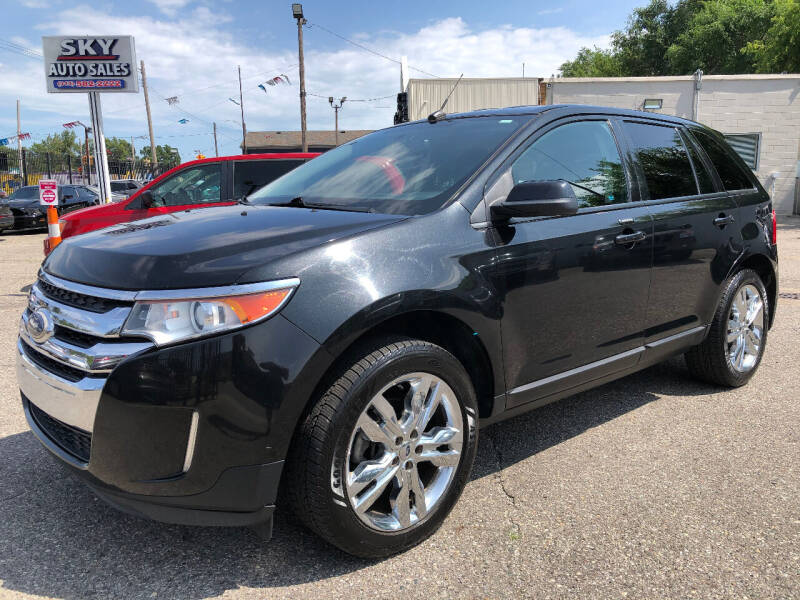 2013 Ford Edge for sale at SKY AUTO SALES in Detroit MI