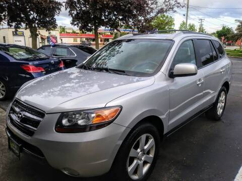 2007 Hyundai Santa Fe for sale at Oak Hill Auto Sales of Wooster, LLC in Wooster OH