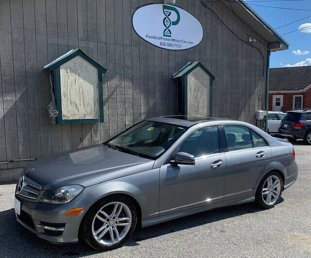 2012 Mercedes-Benz C-Class for sale at Past & Present MotorCar in Waterbury Center VT