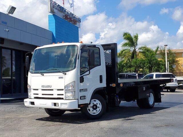 2014 Isuzu NPR DSL REG AT ECO-MAX for sale at Tech Auto Sales in Hialeah FL