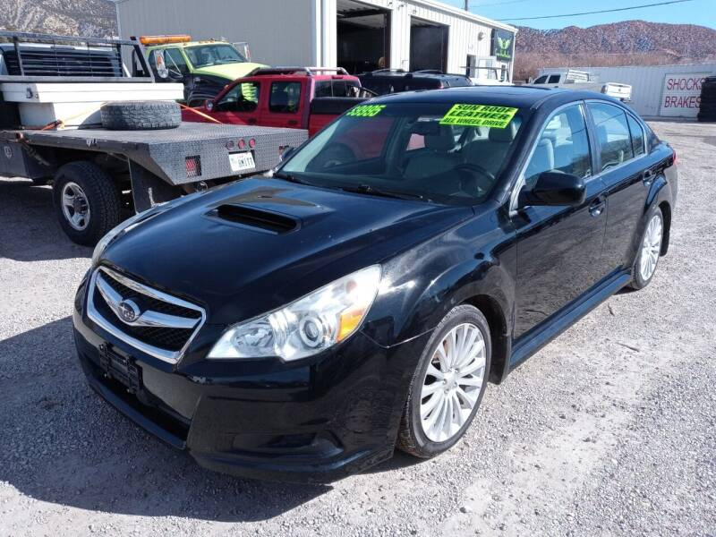 2010 Subaru Legacy for sale at Canyon View Auto Sales in Cedar City UT