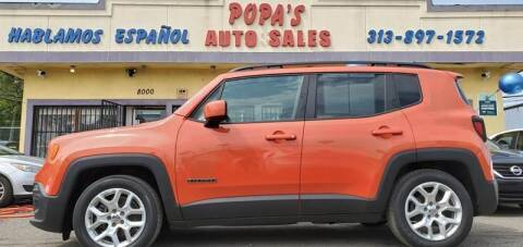 2015 Jeep Renegade for sale at Popas Auto Sales in Detroit MI