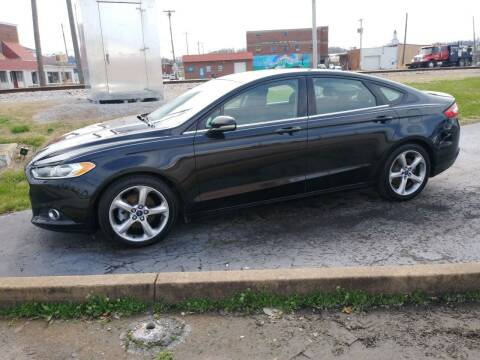 2013 Ford Fusion for sale at Big Boys Auto Sales in Russellville KY