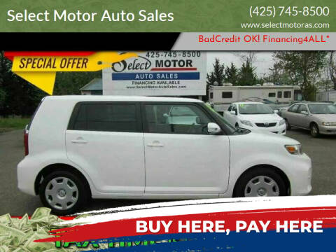 2013 Scion xB for sale at Select Motor Auto Sales in Lynnwood WA