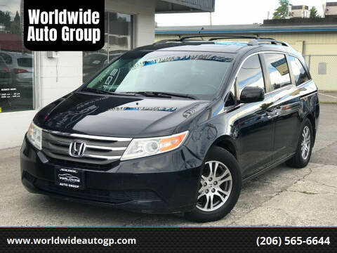 2011 Honda Odyssey for sale at Worldwide Auto Group in Auburn WA