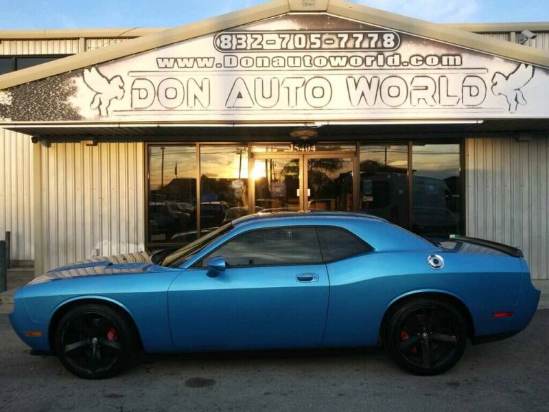 2010 Dodge Challenger for sale at Don Auto World in Houston TX