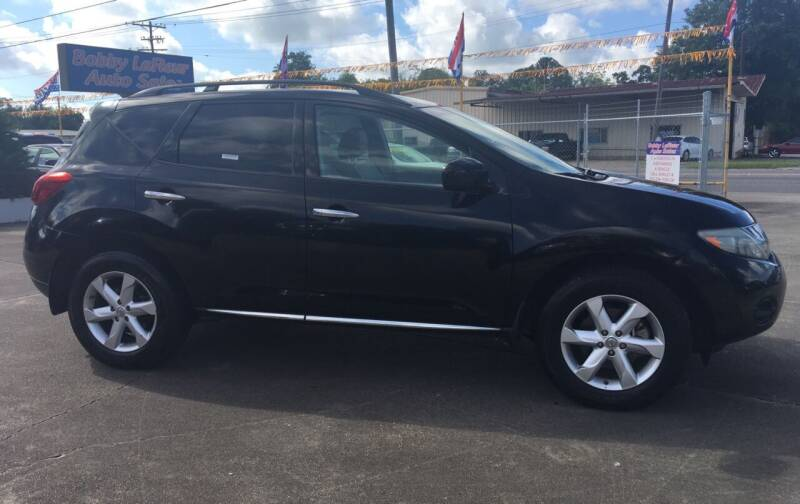 2009 Nissan Murano for sale at Bobby Lafleur Auto Sales in Lake Charles LA