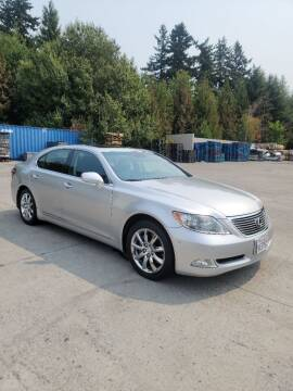 2007 Lexus LS 460 for sale at RICKIES AUTO, LLC. in Portland OR
