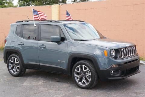 2018 Jeep Renegade for sale at Concept Auto Inc in Miami FL