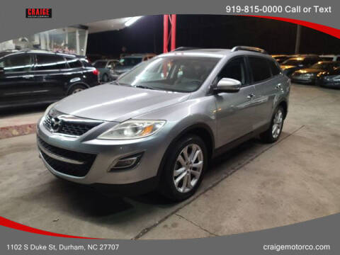 2012 Mazda CX-9 for sale at CRAIGE MOTOR CO in Durham NC