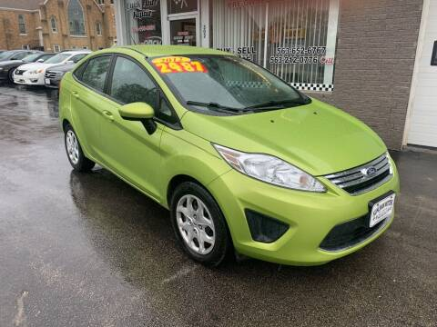 2012 Ford Fiesta for sale at KUHLMAN MOTORS in Maquoketa IA