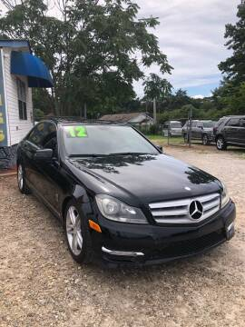 2012 Mercedes-Benz C-Class for sale at Mega Cars of Greenville in Greenville SC