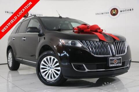 2013 Lincoln MKX for sale at INDY'S UNLIMITED MOTORS - UNLIMITED MOTORS in Westfield IN