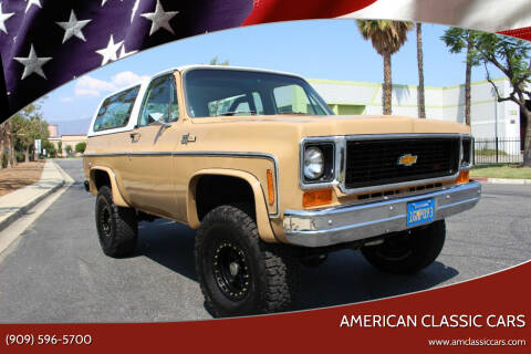 1973 Chevrolet Blazer for sale at American Classic Cars in La Verne CA