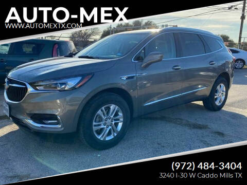 2019 Buick Enclave for sale at AUTO-MEX in Caddo Mills TX