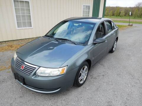 2005 Saturn Ion for sale at WESTERN RESERVE AUTO SALES in Beloit OH