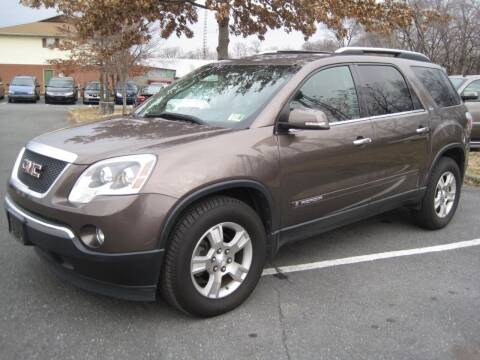 2008 GMC Acadia for sale at Auto Bahn Motors in Winchester VA