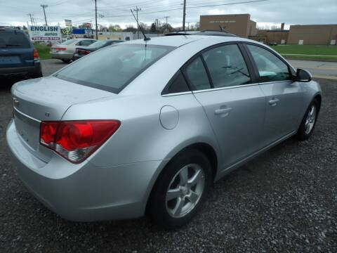 2011 Chevrolet Cruze for sale at English Autos in Grove City PA