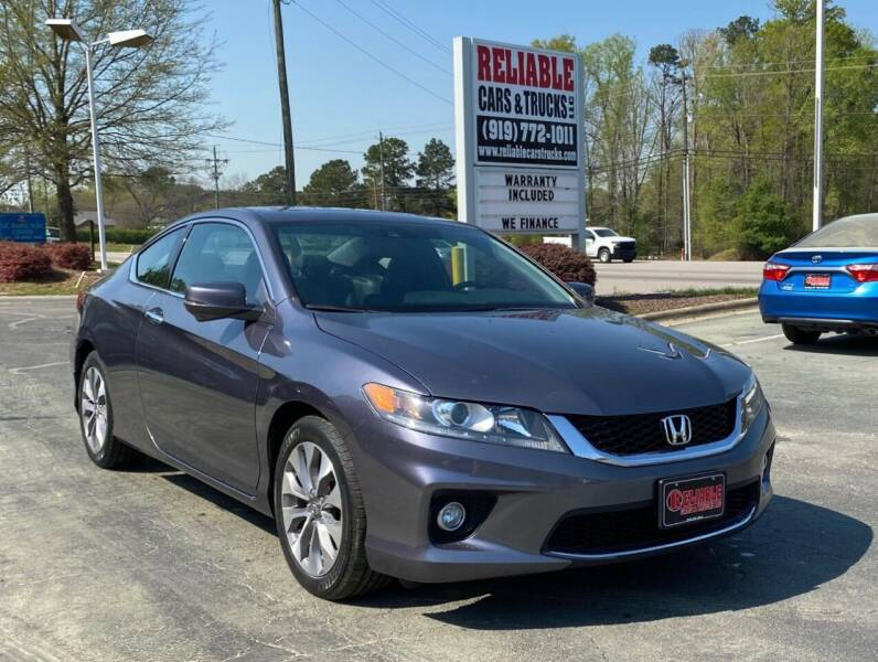 2014 Honda Accord for sale at Reliable Cars & Trucks LLC in Raleigh NC