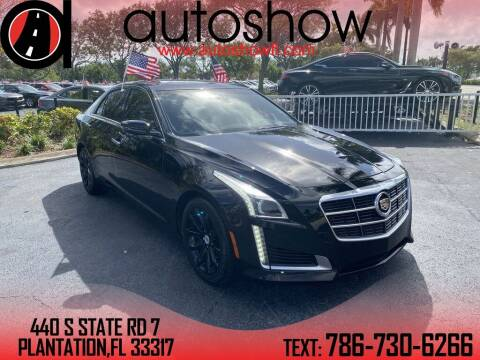 2014 Cadillac CTS for sale at AUTOSHOW SALES & SERVICE in Plantation FL