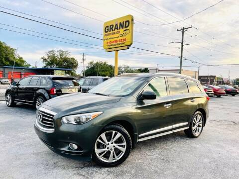 2013 Infiniti JX35 for sale at Grand Auto Sales in Tampa FL