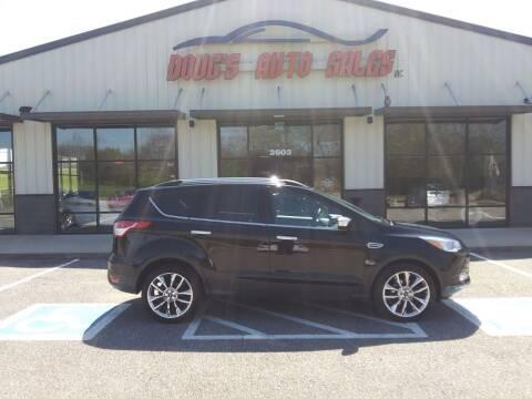 2016 Ford Escape for sale at DOUG'S AUTO SALES INC in Pleasant View TN