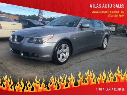 2005 BMW 5 Series for sale at Atlas Auto Sales in Smyrna GA