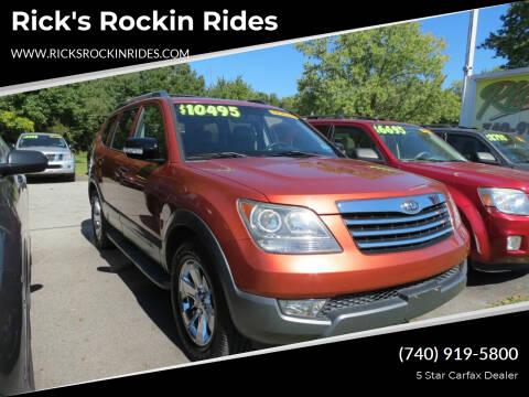 2009 Kia Borrego for sale at Rick's Rockin Rides in Reynoldsburg OH