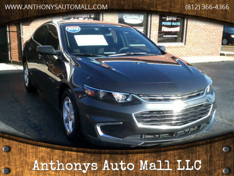 2018 Chevrolet Malibu for sale at Anthonys Auto Mall LLC in New Salisbury IN