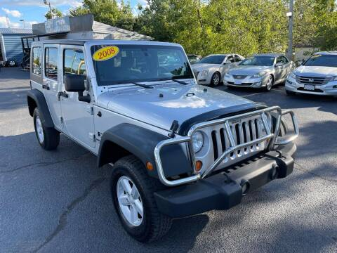2008 Jeep Wrangler Unlimited for sale at LexTown Motors in Lexington KY