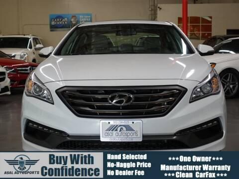 2016 Hyundai Sonata for sale at ASAL AUTOSPORTS in Corona CA