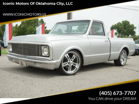 1971 Chevrolet C/K 10 Series for sale at Iconic Motors of Oklahoma City, LLC in Oklahoma City OK