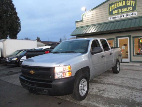 2013 Chevrolet Silverado 1500 for sale at Emerald City Auto Inc in Seattle WA