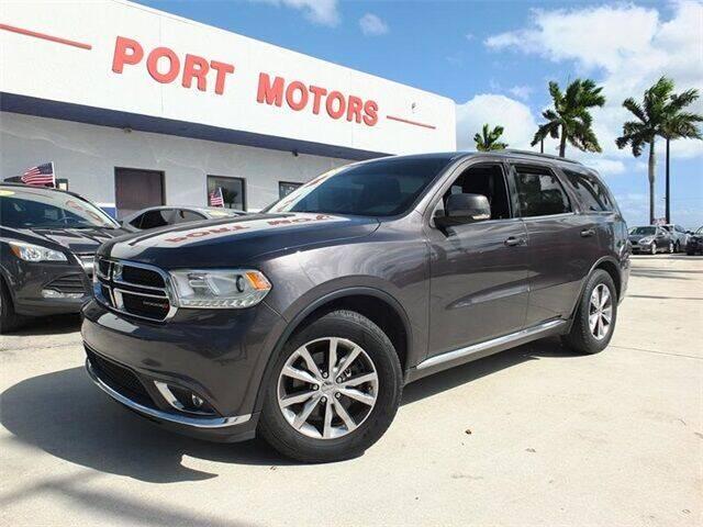 2016 Dodge Durango for sale at Automotive Credit Union Services in West Palm Beach FL